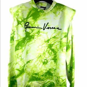 Brand New Versace Tie-Dye Print Sweatshirt